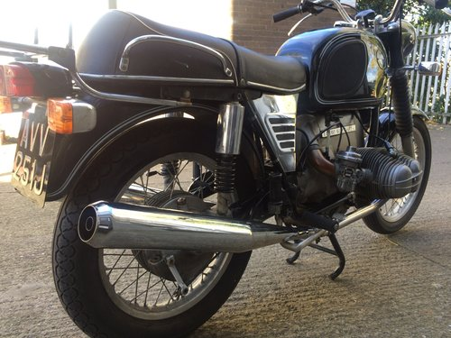 1971 BMW R75/5 short wheel base, matching numbers. SOLD (picture 2 of 6)