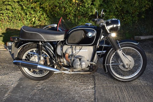 1972 BMW R60/5 and Steib 501 Outfit SOLD (picture 3 of 6)