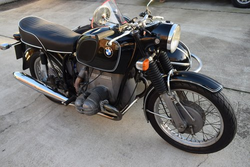 1972 BMW R60/5 and Steib 501 Outfit SOLD (picture 6 of 6)