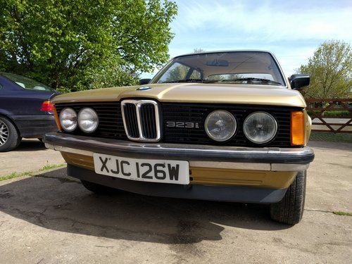 1980 BMW E21 323i Manual 66k For Sale (picture 1 of 3)