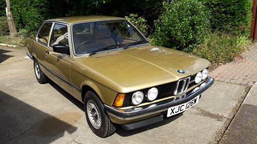 1980 BMW E21 323i Manual 66k For Sale (picture 2 of 3)