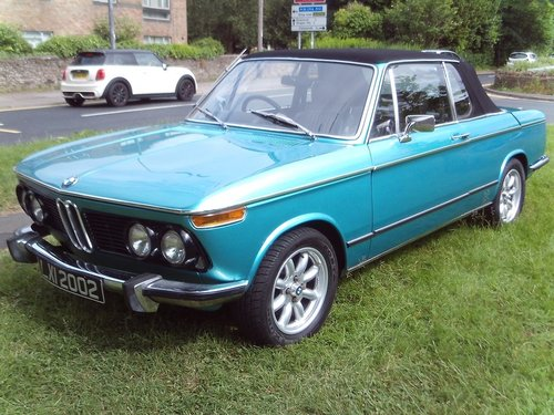 1973 BMW 2002 For Sale (picture 1 of 1)