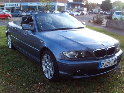 2004 BMW 318 CI SE For Sale (picture 1 of 1)