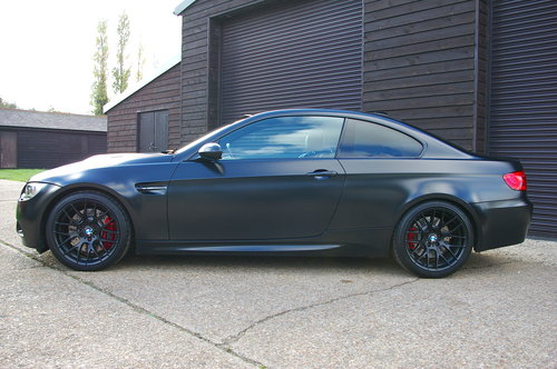 2011 BMW E92 M3 4.0 V8 Frozen Black Edition (47,573 miles) SOLD (picture 1 of 6)