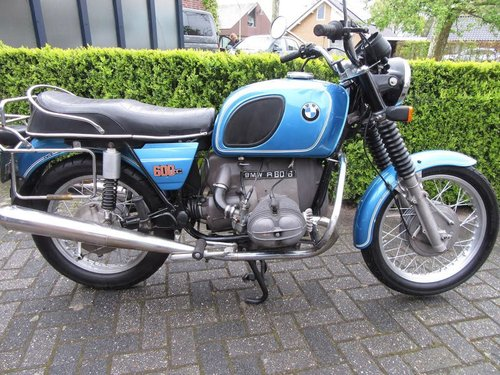 1976 BMW R60/6 matching numbers For Sale (picture 2 of 5)