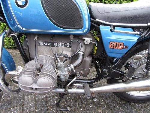 1976 BMW R60/6 matching numbers For Sale (picture 4 of 5)
