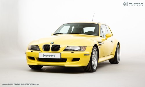 1999 BMW Z3 M COUPE // ICONIC DAKAR YELLOW // LOW MILES SOLD (picture 1 of 6)