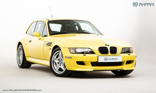 1999 BMW Z3 M COUPE // ICONIC DAKAR YELLOW // LOW MILES For Sale (picture 2 of 6)