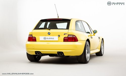 1999 BMW Z3 M COUPE // ICONIC DAKAR YELLOW // LOW MILES For Sale (picture 3 of 6)