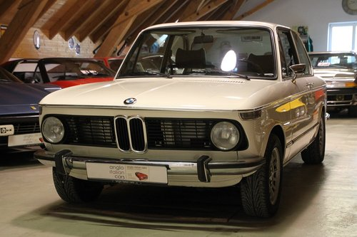 1973 BMW 2002 tii / never restored / 2. owner car For Sale (picture 1 of 6)