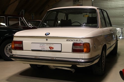 1973 BMW 2002 tii / never restored / 2. owner car For Sale (picture 2 of 6)