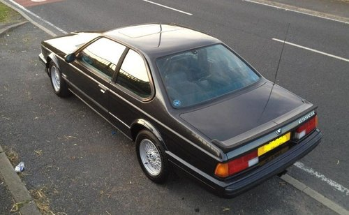 1989 Bmw 635 csi highline Auto SOLD (picture 4 of 6)