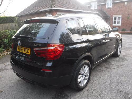 BMW X3 3.0 30d SE xDrive 5dr 2014 100k For Sale (picture 4 of 6)