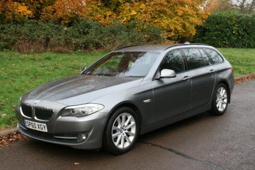2010/60 BMW 520d SE. 5 Door Estate Tourer. Bargain To Clear. SOLD (picture 1 of 6)