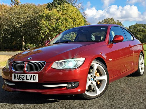 2012 62 BMW 335d SE Coupe Automatic - 66,000 MILES SOLD (picture 1 of 6)