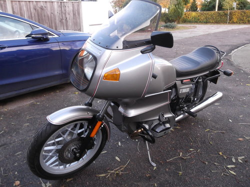 1981                    BMW R100RS 5,500 miles from new For Sale (picture 3 of 6)