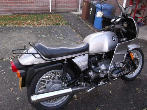 1981                    BMW R100RS 5,500 miles from new For Sale (picture 5 of 6)