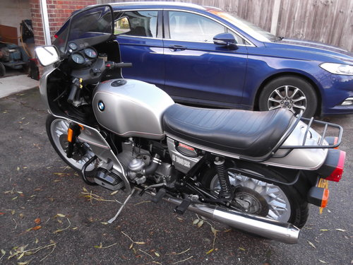 1981                    BMW R100RS 5,500 miles from new For Sale (picture 6 of 6)