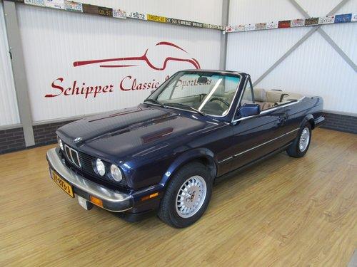 1987 BMW 325i E30 Cabrio For Sale (picture 1 of 6)