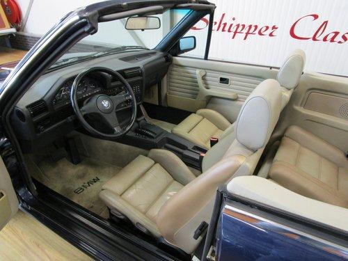 1987 BMW 325i E30 Cabrio For Sale (picture 5 of 6)