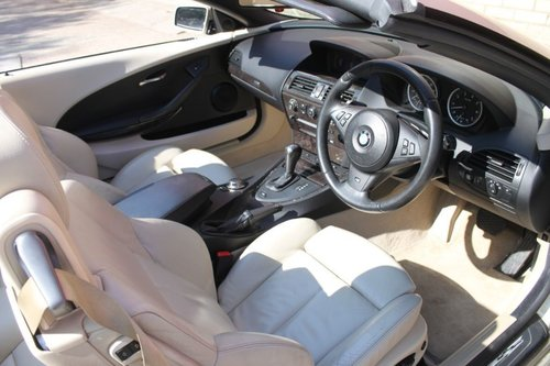 2006 BMW 650I CONVERTIBLE, CABRIOLET COUPLE AUTOMATIC For Sale (picture 3 of 6)