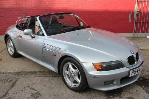 1998 BMW Z3 ROADSTER CONVERTIBLE, MANUAL For Sale (picture 1 of 4)