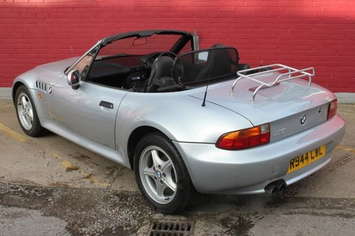 1998 BMW Z3 ROADSTER CONVERTIBLE, MANUAL For Sale (picture 2 of 4)