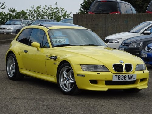 1999 BMW Z3M 3.2 2dr Z3M COUPE LOW MILEAGE + LHD For Sale (picture 1 of 6)