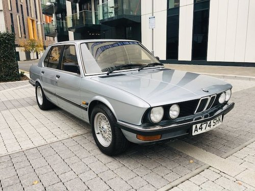 1984 Bmw 520i e28 54k - exceptional condition  For Sale (picture 1 of 6)