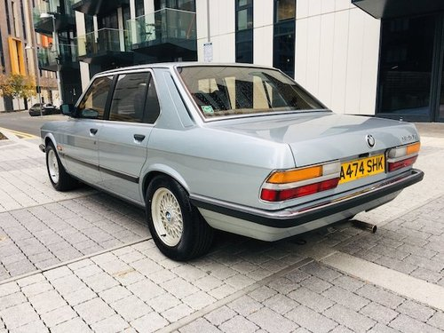 1984 Bmw 520i e28 54k - exceptional condition  For Sale (picture 4 of 6)