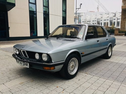 1984 Bmw 520i e28 54k - exceptional condition  For Sale (picture 5 of 6)