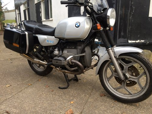 1985 BMW R80, ultra low mileage. SOLD (picture 1 of 6)