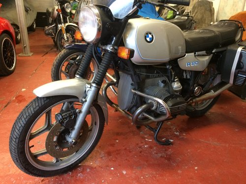 1985 BMW R80, ultra low mileage. SOLD (picture 2 of 6)