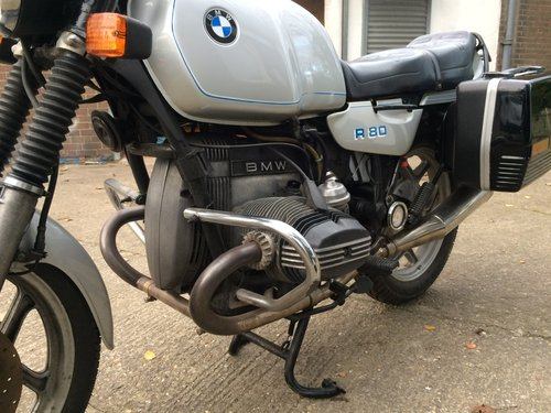 1985 BMW R80, ultra low mileage. SOLD (picture 5 of 6)