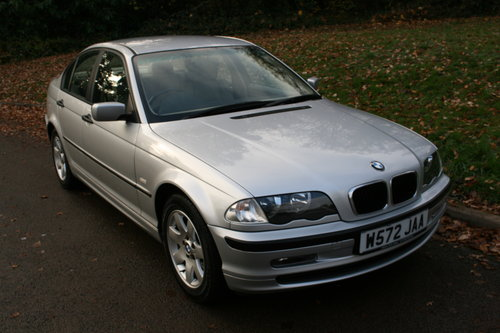 BMW 318i SE.. E46.. Only 37,000 Miles.. FSH.. Factory Extras SOLD (picture 2 of 6)