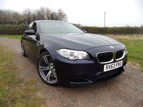 2013 BMW M5 Auto (Full Main Dealer Service History) For Sale (picture 1 of 6)