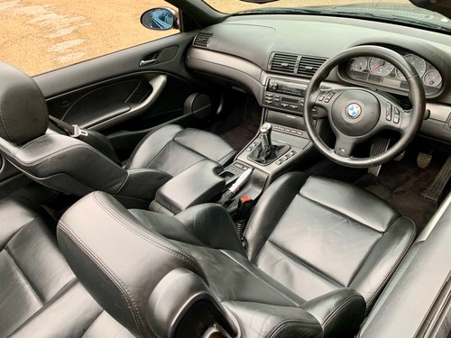 2005 BMW E46 M3 CONVERTIBLE MANUAL! SOLD (picture 3 of 6)