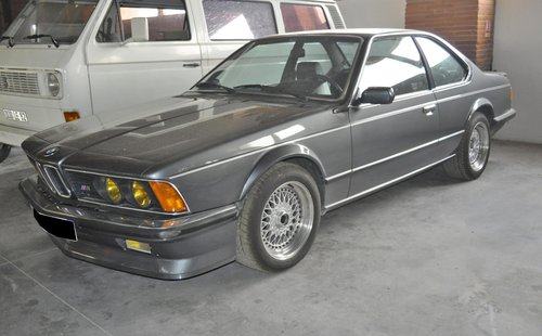 1985 BMW M635 CSI SOLD by Auction (picture 1 of 4)