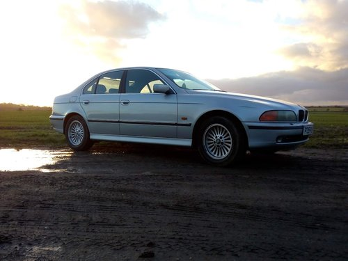 1997 BMW 535i E39 Lovely condition History and New MOT For Sale (picture 1 of 6)