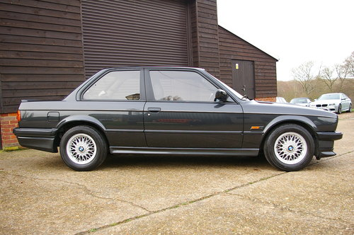 1987 BMW E30 320i M-TECH Coupe 5 Speed Manual LHD (66,780 miles) SOLD (picture 2 of 6)