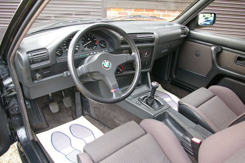 1987 BMW E30 320i M-TECH Coupe 5 Speed Manual LHD (66,780 miles) SOLD (picture 4 of 6)