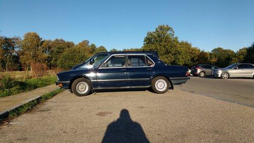 1983 Rare very low mileage BMW E28