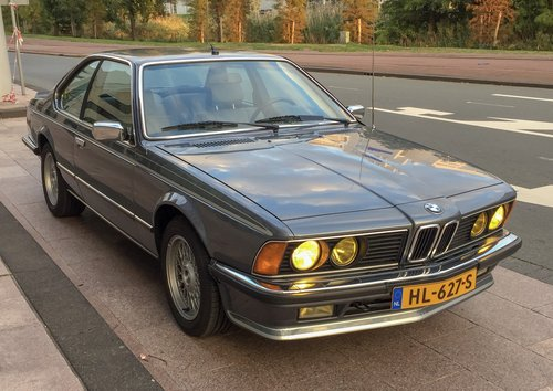 1984 BMW 635 CSi Coupe Dogleg Manual E24 LHD For Sale (picture 1 of 6)