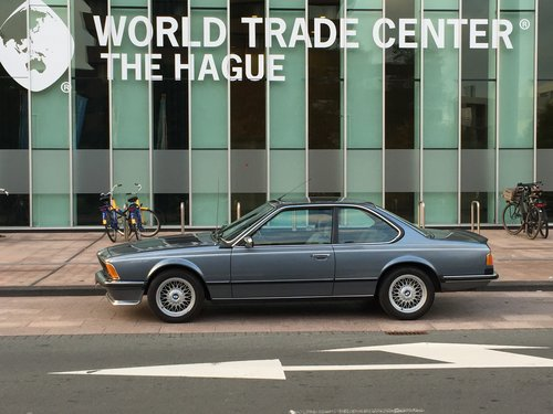 1984 BMW 635 CSi Coupe Dogleg Manual E24 LHD For Sale (picture 2 of 6)