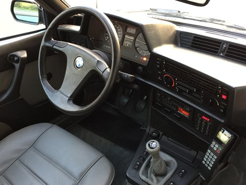 1984 BMW 635 CSi Coupe Dogleg Manual E24 LHD For Sale (picture 4 of 6)