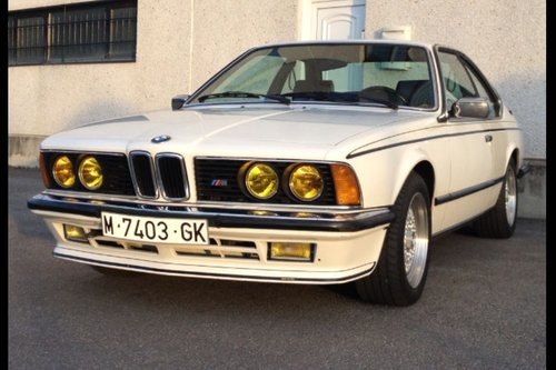1985 Bmw 635 csi For Sale (picture 1 of 6)