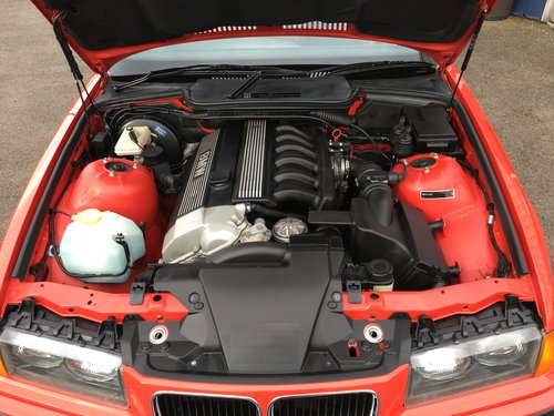 1996 BMW E36 328i CONVERTIBLE 14000 MILES ONLY For Sale (picture 3 of 6)