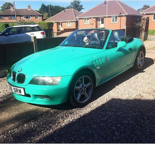BMW Z3 Roadster Individual Fiji Green 1999 For Sale