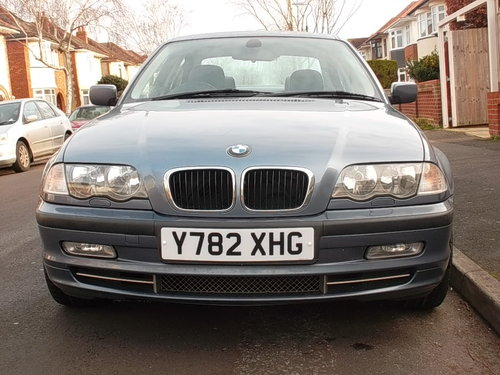 BMW 330i SE 2001 2 OWNERS FULL SERVICE HISTORY JAN MOT 136K  For Sale (picture 1 of 6)