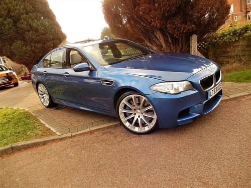 2013 BMW M5 F10 -- facelift model -- f/ BMW/s/h For Sale (picture 1 of 6)